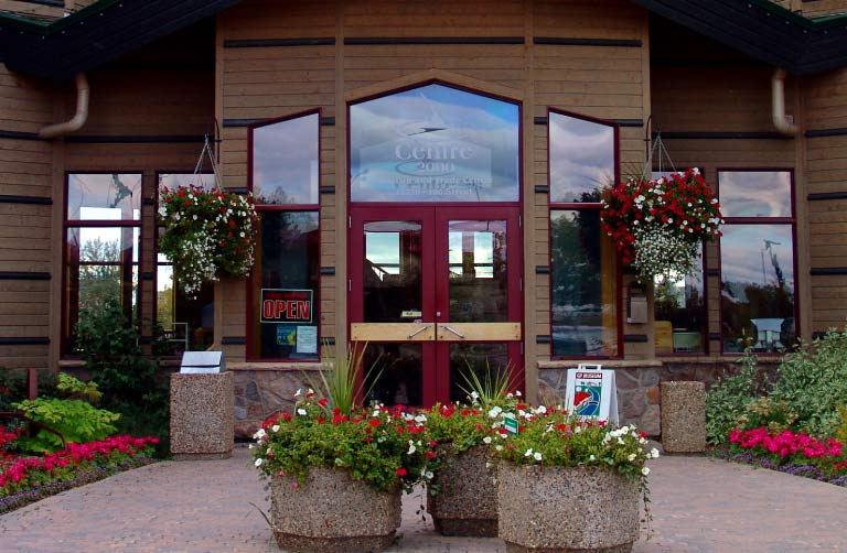 Entrance Doors to Centre 2000 Grande Prairie