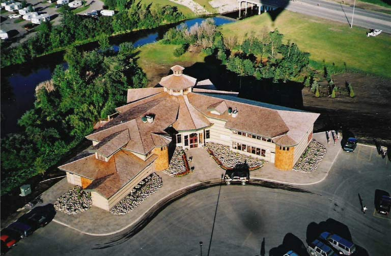 Aerial View of Centre 2000 Grande Prairie