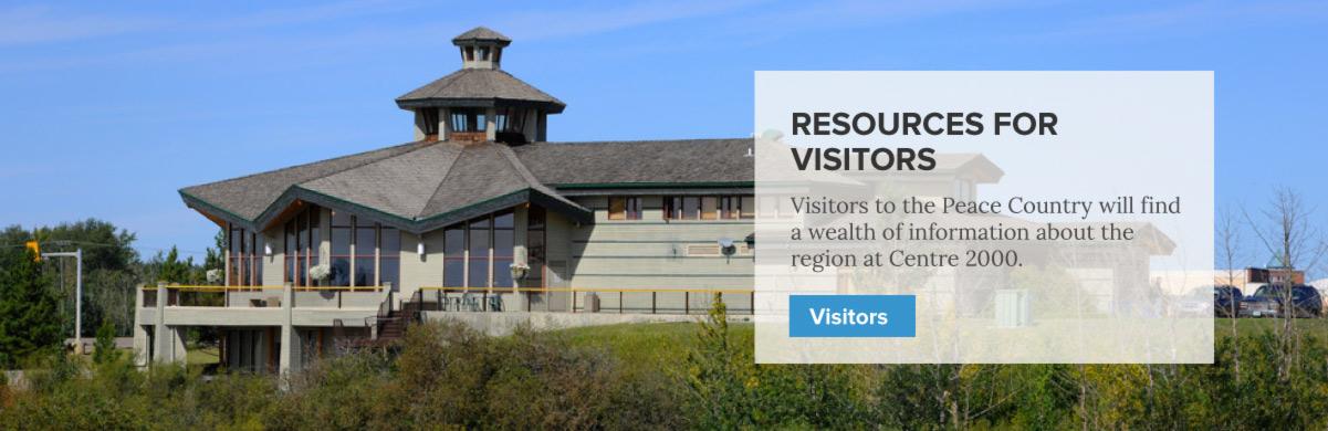 Services for Visitors - Centre 2000 Grande Prairie