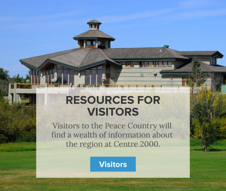 Services for Visitors - Centre 2000 Grande Prairie