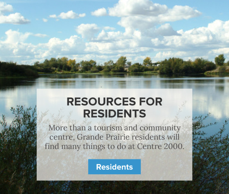 Services for Residents - Centre 2000 Grande Prairie